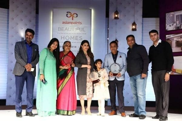 Asian Paints Announces Winners of Delhi Beautiful Homes 2019