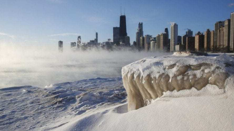 Extreme cold to hit 55 million people in the US as polar vortex brings life-threatening temperatures