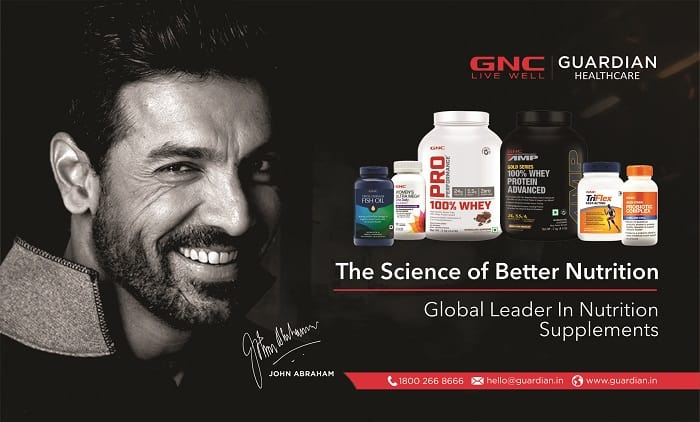 Guardian Healthcare Locally Manufactures GNC Products in India, Promotes 'Made in India'
