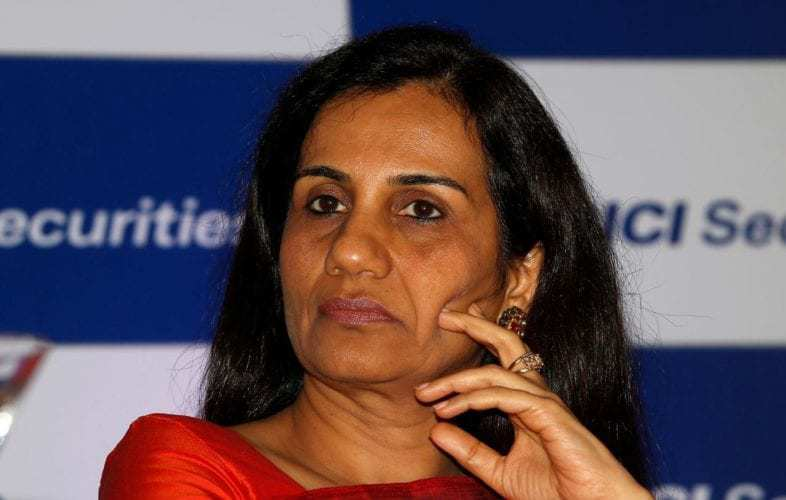 ICICI Bank Sacks Chanda Kochhar In Videocon Loan Case After Being Booked By CBI.jpeg