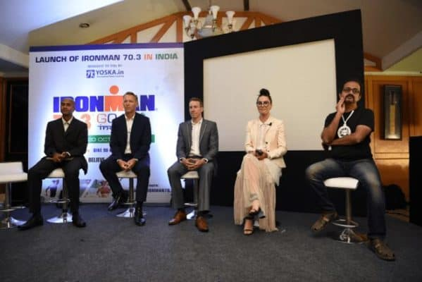 IRONMAN 70.3 Triathlon Series into Goa, India in 2019