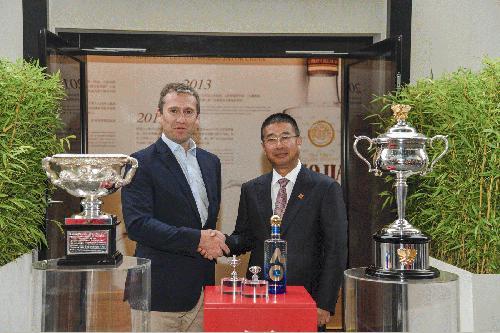 Luzhou Laojiao promotes internationalization strategy jointly with Australian Open