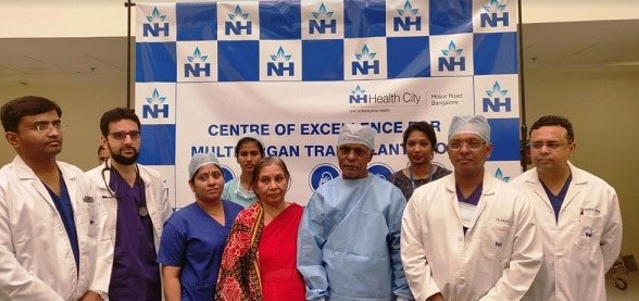 Karnataka's 1st 'Heart and Lungs' Transplant Patient makes Rapid Strides in Recovery