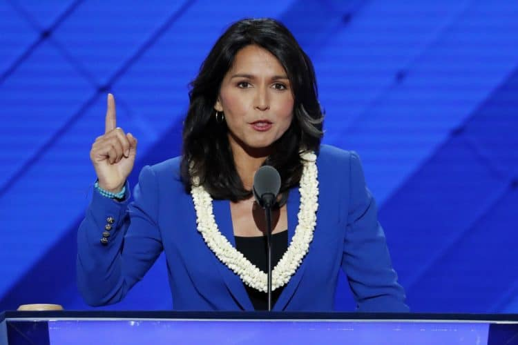 Proud to be 1st Hindu-American to run for president: Tulsi Gabbard