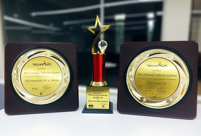 FSS Paynalytix and FSS Secure3D Win Big at Technoviti Awards 2019