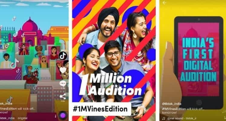 TikTok Brings India Together through Laughter, Smashing Records with the Latest 1 Million Audition