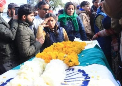 Daughter salutes martyred CRPF jawan Mohan Lal Raturi as India bids goodbye to its brave sons
