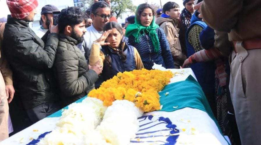 Daughter salutes martyred CRPF jawan Mohan Lal Raturi as India bids goodbye to its brave sons