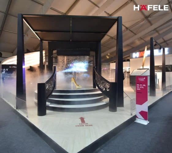 Hafele Designed the Fairytale Land - A Modern Day Rendition at ID Exhibition