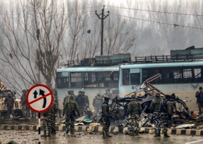 Pulwama attack- J&K Governor directs immediate enhancement of surveillance at all important installations