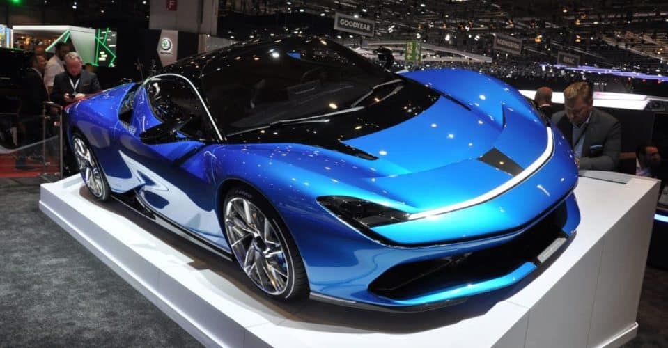 E-car Battista owned by Automobili Pininfarina, part of the Mahindra Group may be the world's fastest