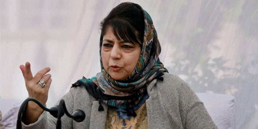 Mehbooba Mufti Calls Mirwaiz Spiritual Leader As NIA Summons Him For Enquiry