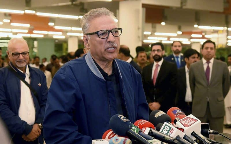 Pakistan President Arif Alvi Says Pakistan Is A Reality
