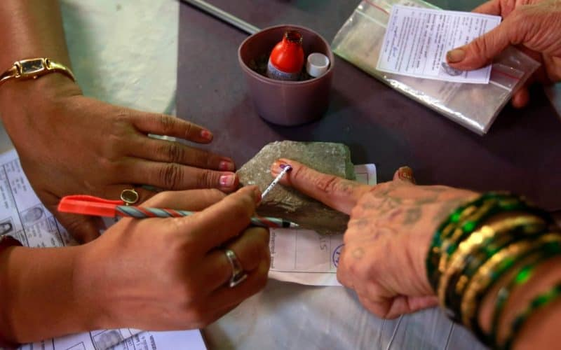 Polling Staff Fulfil Call Of Duty For Single Arunachal Voter - Digpu