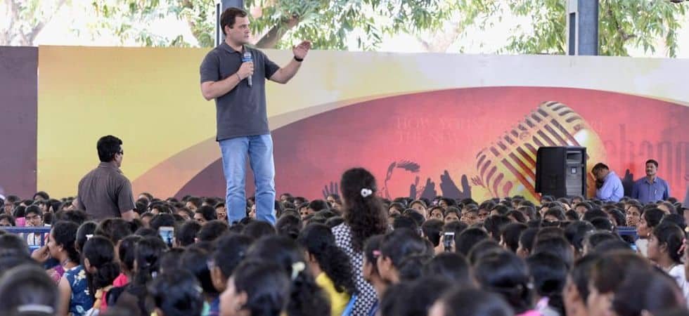 Rahul Gandhi At Stella Maris College: Investigate Robert Vadra But Don't Be Selective