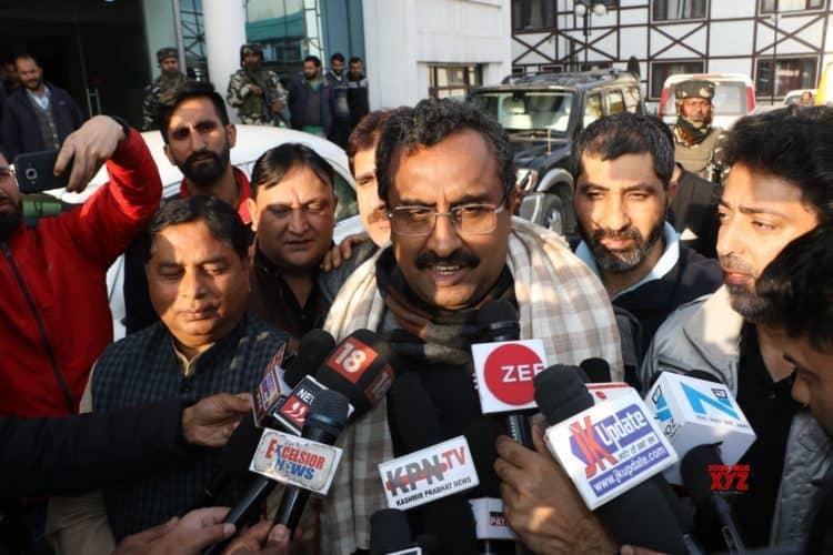 Ram Madhav Bells The Cat; Calls Omar And Mehbooba's Actions Pro-Pakistan