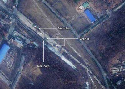 Sattelite Images Suggest North Korea Is Preparing Rocket Launch