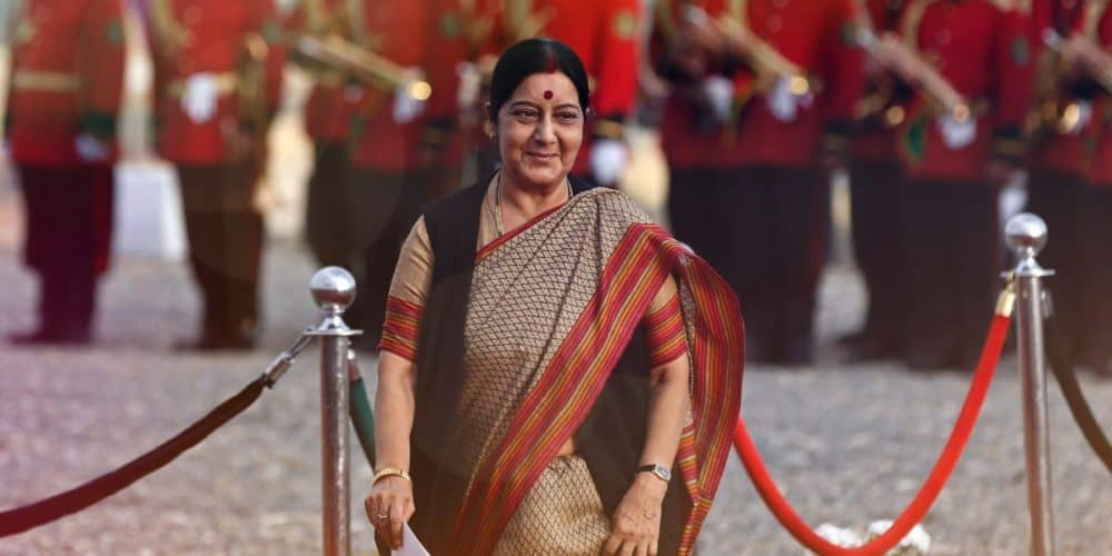 Sushma Swaraj Seeks Report Into Kidnap Of 2 Hindu Girls In Pakistan