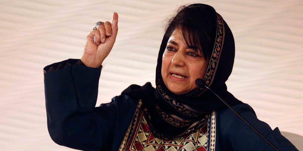 J&K will reconsider ties with India if Article 370 goes: Mehbooba Mufti