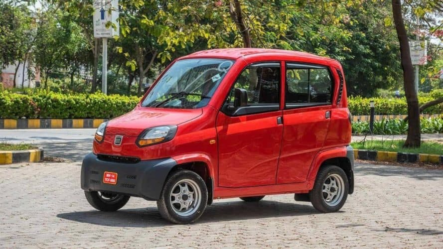 Bajaj Auto Launches India's First Quadricycle 'Qute' - Digpu