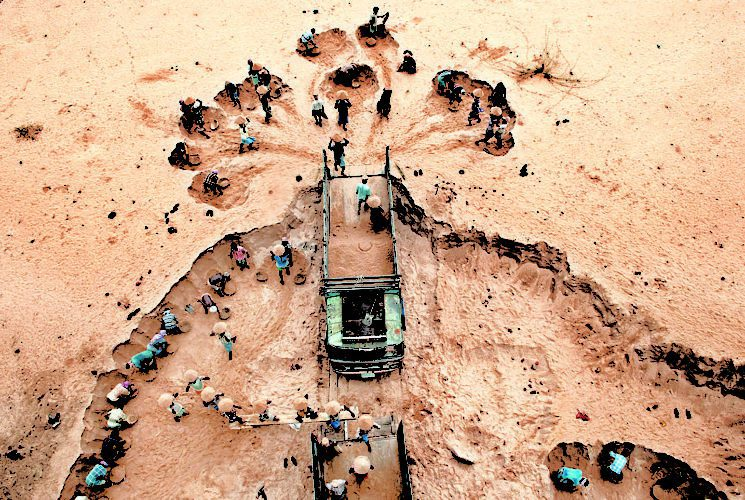 NGT Fines Andhra Pradesh Govt Rs 100 Cr Over Failure To Stop Sand Mining - Digpu