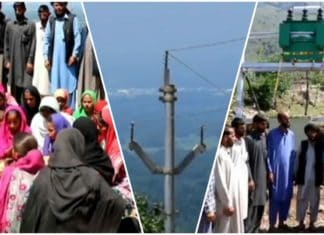 People celebrate as their village gets electricity first time since 1947