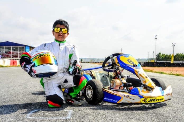 Arafath Sheikh 'India's youngest karting sensation'