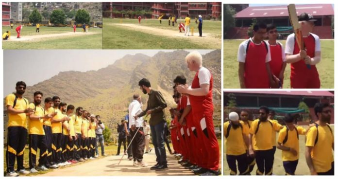 First ever cricket tourney organized for blind persons in Kashmir - Digpu