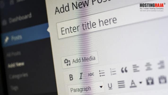 HostingRaja WordPress Hosting, Features, and Benefits - Digpu
