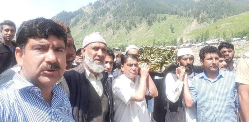 India hands over body of deceased boy to Pakistan authorities in J&K