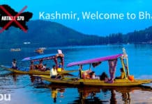 Kashmir, welcome to Bharat