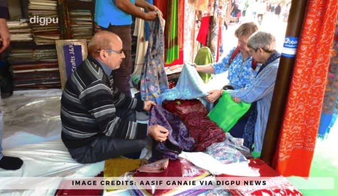 Bashir Ahmad Bhat – The Man Who Embellished The Craft Of Embroidery - Digpu