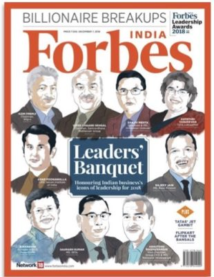 Forbes India Leadership Awards.