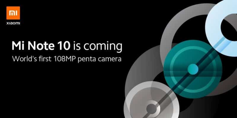 Xiaomi teases its upcoming smartphone with 108-megapixel camera