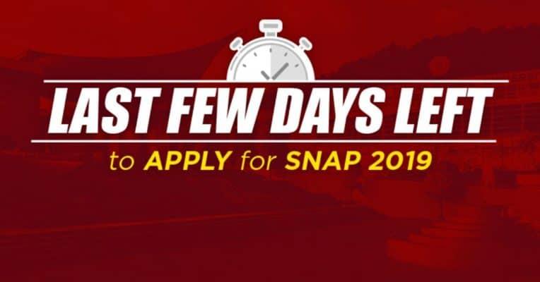 Last Few Days Left: Calling Out Aspirants For SNAP 2019 Registration