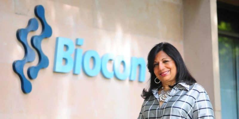 Biocon Ltd's Chairperson and Managing Director Kiran Mazumdar Shaw