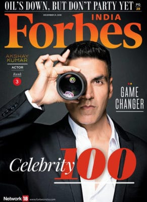 Forbes India Celebrity 100 Magazine Issue