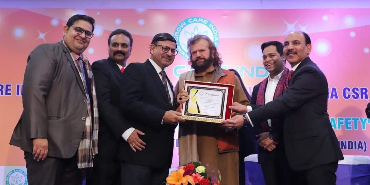 JSPL Foundation wins Grow Care India CSR award in platinum category