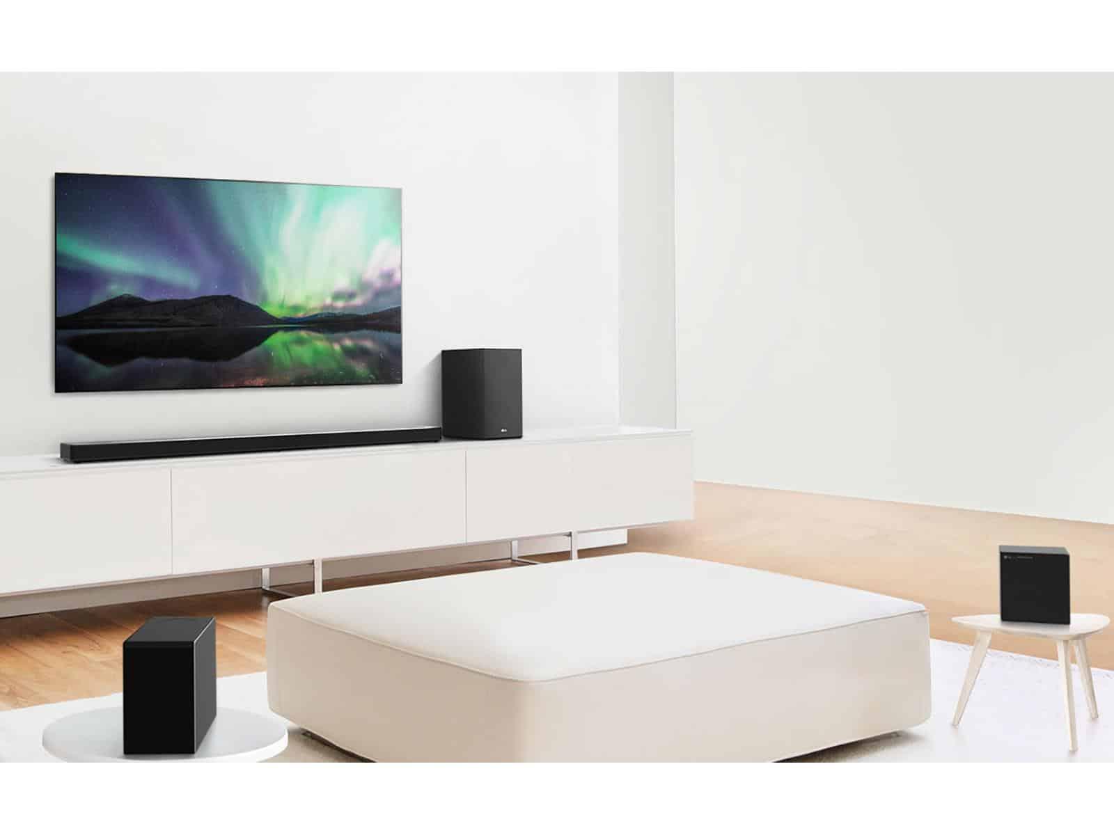 LG unveils new soundbars with AI calibration
