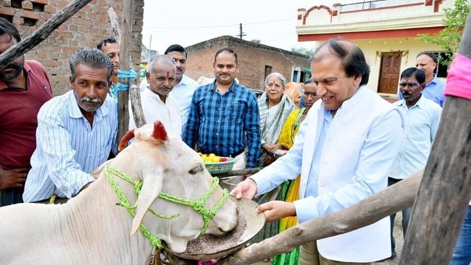 Dinesh Shahra Foundation conducts Gau Shakti Abhiyan in Nagpur