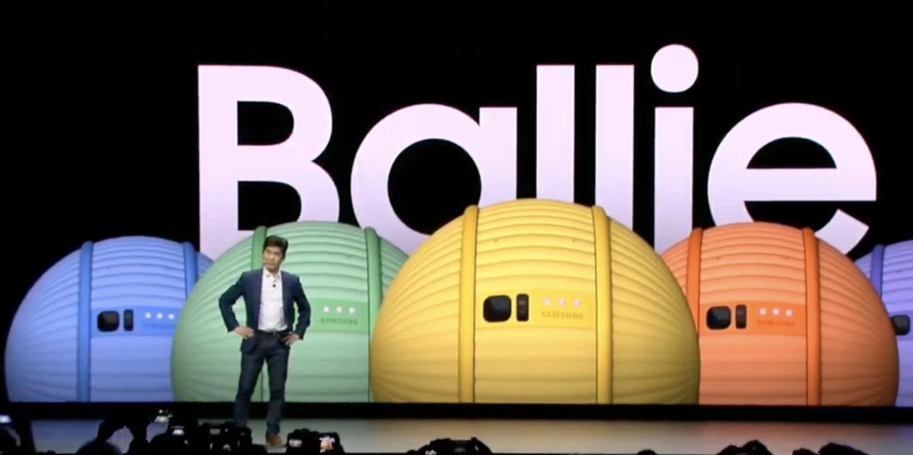 Meet Ballie, Samsung's companion rolling robot