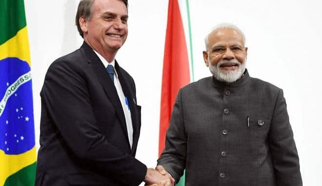 PM's Media Statement during the state visit of President of Brazil