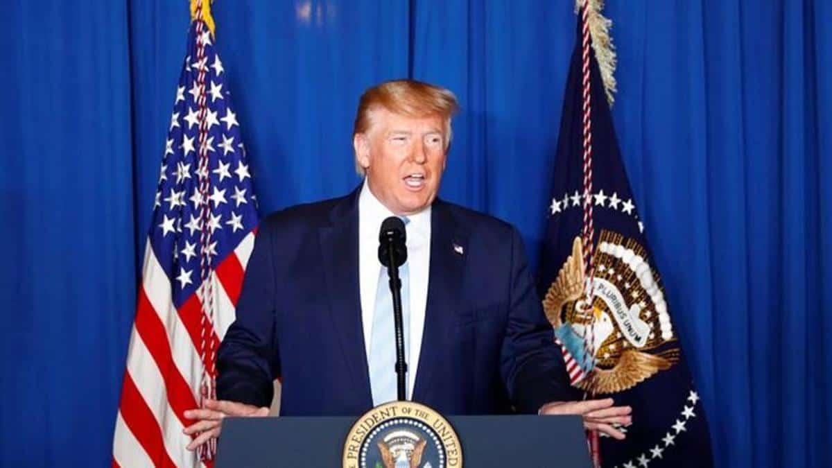Took action last night to 'stop war': Trump after Soleimani's killing