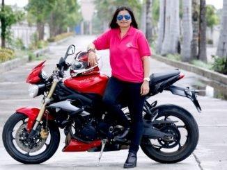 Sarika Mehta - Biker for A Cause - Achievers News Digpu