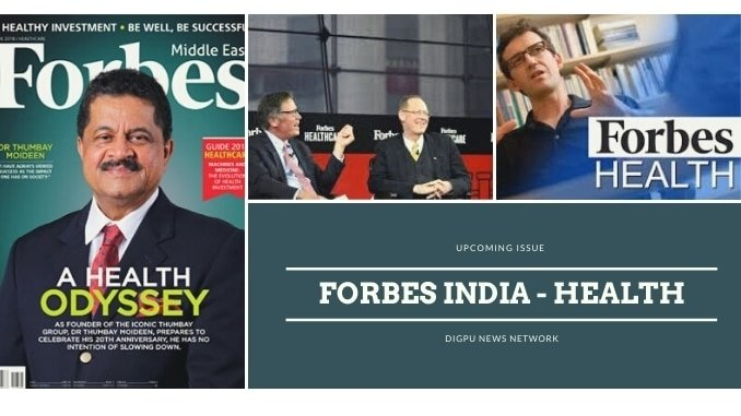 Forbes India: Upcoming 'Health' Edition Uncovers all about Health & Healthcare