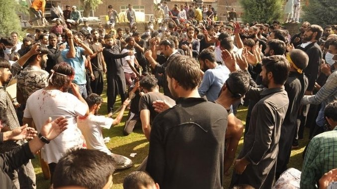 In Pictures Mourning of Muharram observed in Kashmir - DilPaziir - Digpu News