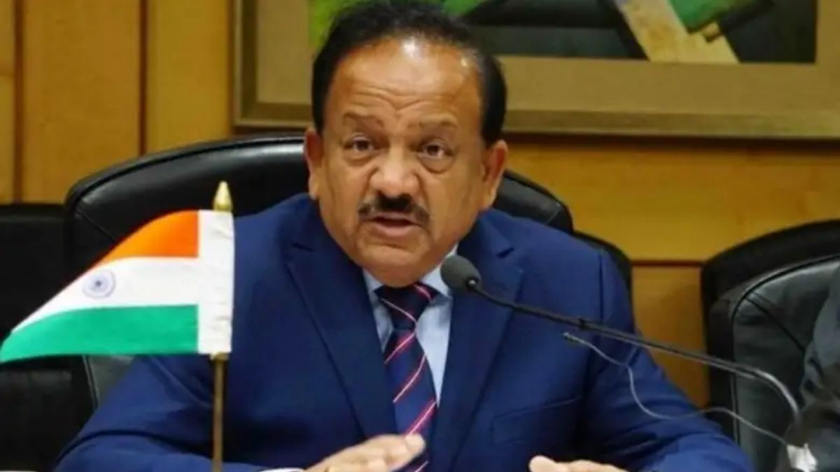 Who Has Awarded Union Health Minister, Dr. Harsh Vardhan, For Efforts In Tobacco  Control